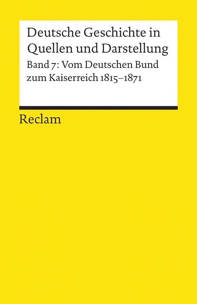 Deutsche Geschichte 7 in Quellen und Darstellung als Buch