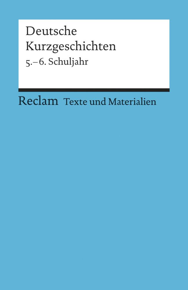 Deutsche Kurzgeschichten 5. - 6. Schuljahr als Taschenbuch