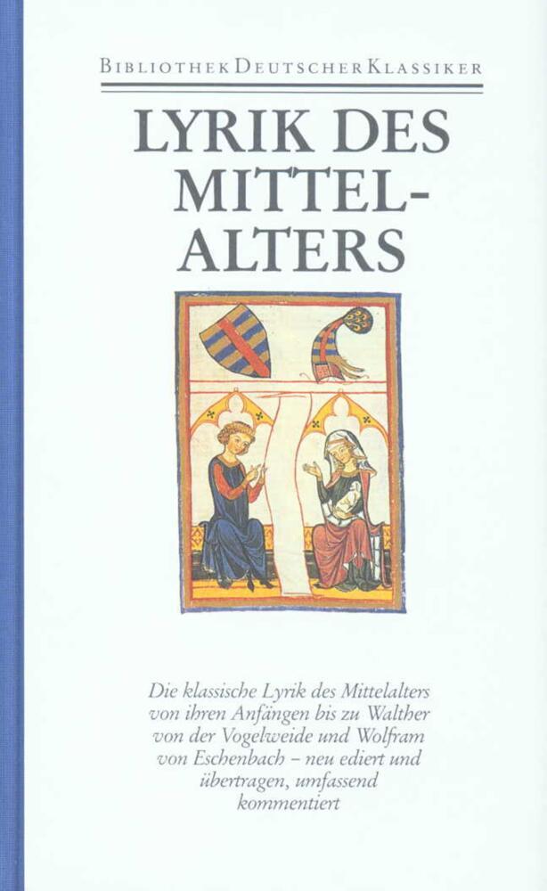 Deutsche Lyrik des Frühen und Hohen Mittelalters als Buch