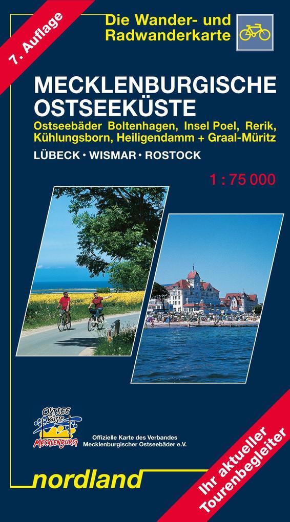 Mecklenburgische Ostseeküste Lübeck - Wismar - Rostock 1 : 75 000. Saison 2017-2019 als Buch