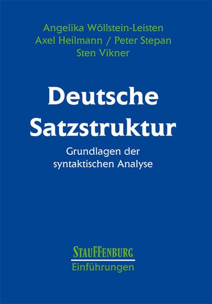 Deutsche Satzstruktur als Buch