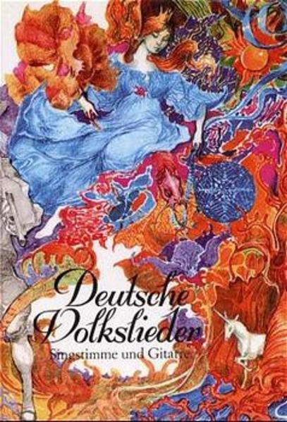 Deutsche Volkslieder als Buch