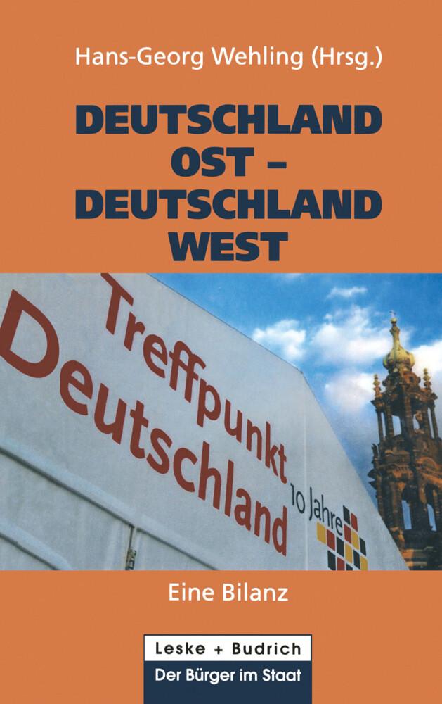 Deutschland Ost - Deutschland West als Buch