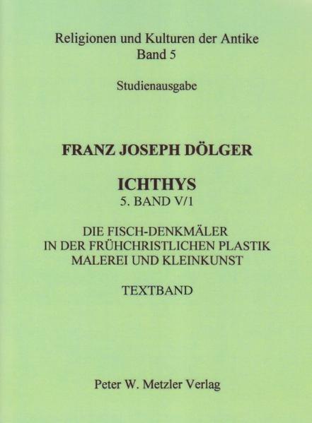 ICHTHYS. 5. Band: V/1 als Buch