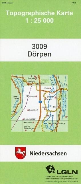 Dörpen 1 : 25 000 (TK25 3009/NA) als Buch