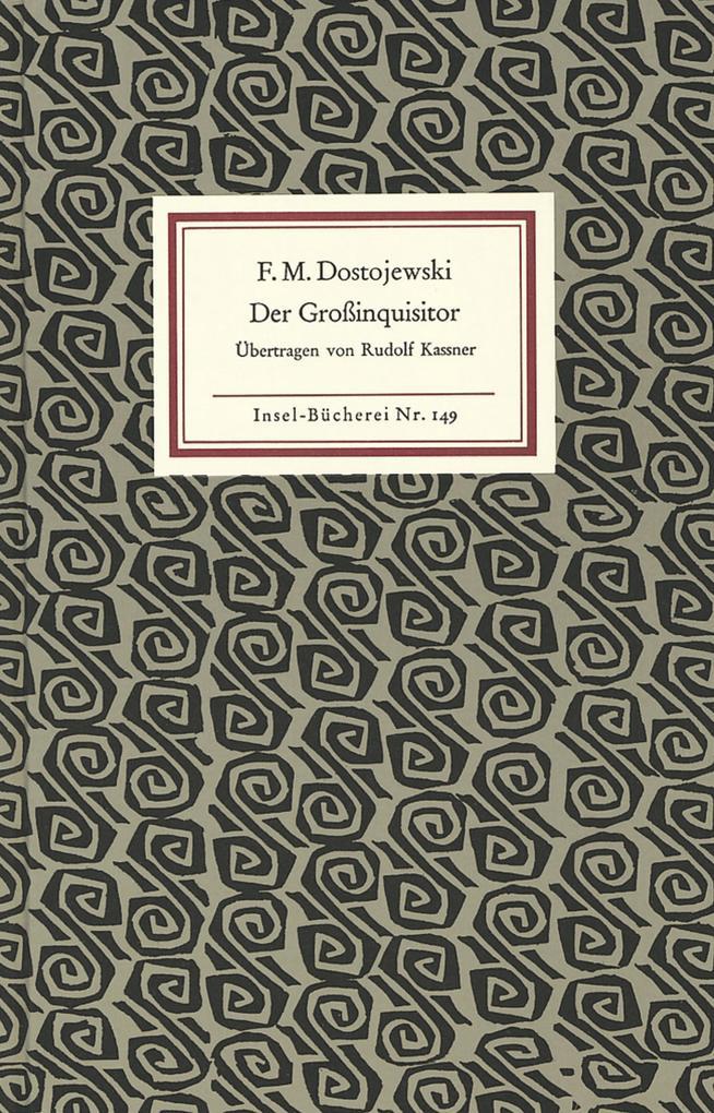 Der Großinquisitor als Buch