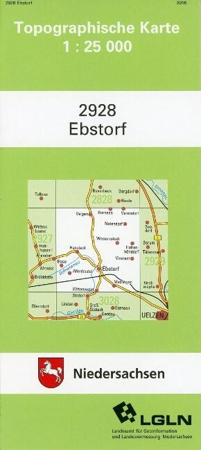 Ebstorf 1 : 25 000 als Buch