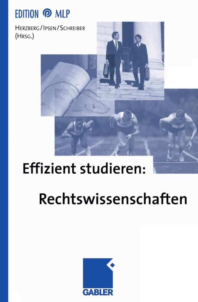 Effizient studieren: Rechtswissenschaften als Buch