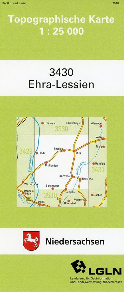Ehra-Lessien 1 : 25 000 als Buch