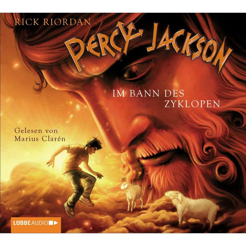 Percy Jackson, Teil 2: Im Bann des Zyklopen als Hörbuch Download
