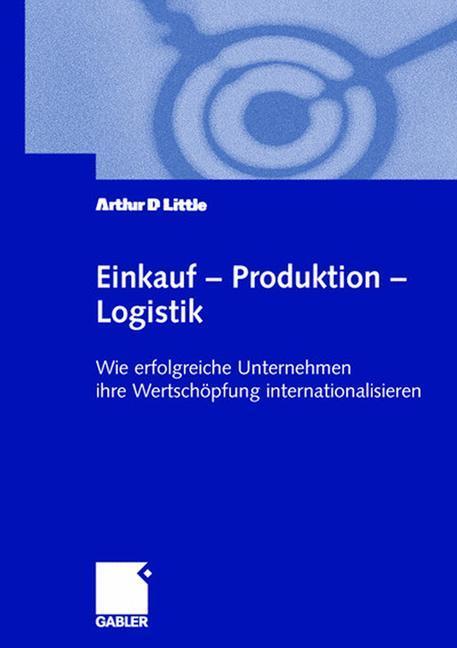 Einkauf - Produktion - Logistik als Buch