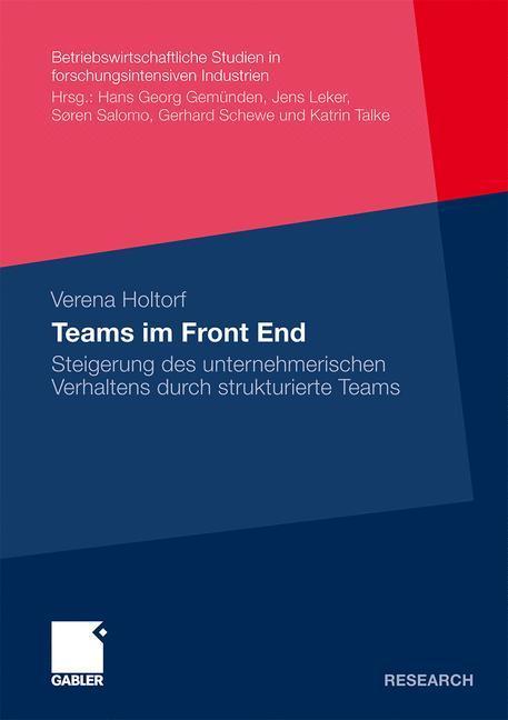 Teams im Front End als Buch von Verena Holtorf - Gabler Verlag