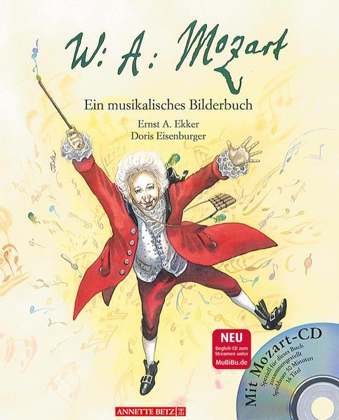Wolfgang Amadeus Mozart als Buch