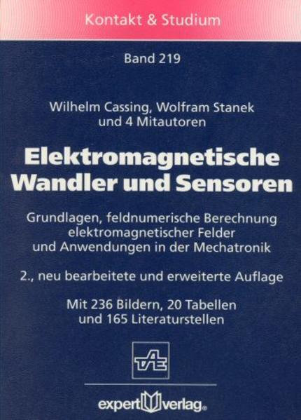 Elektromagnetische Wandler und Sensoren als Buch