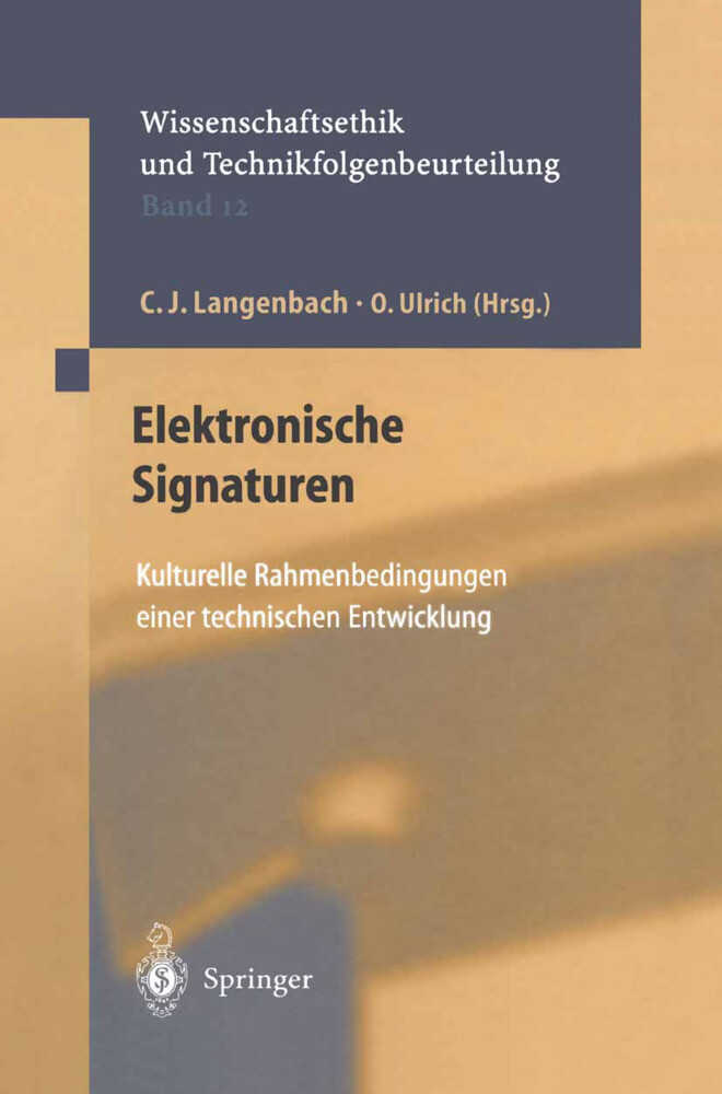 Elektronische Signaturen als Buch