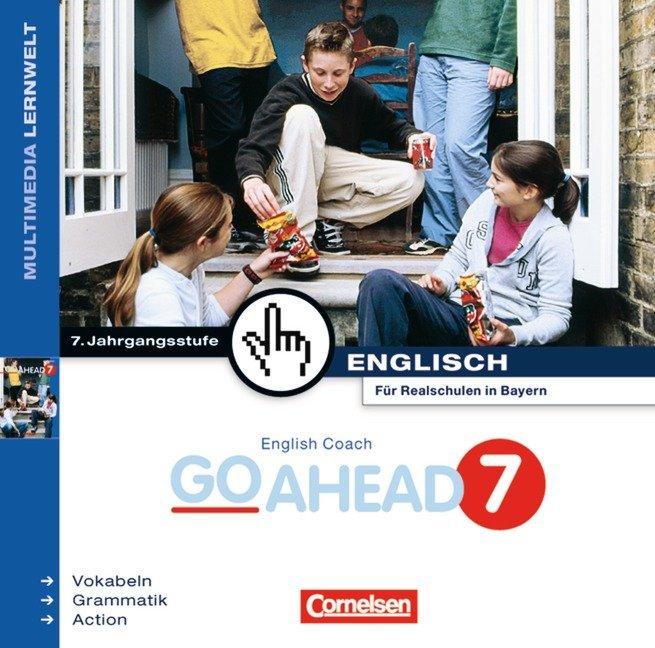 English Coach Multimedia. Go Ahead 7. CD-ROM für Windows 95/98/NT 4.0. Bayern als Software