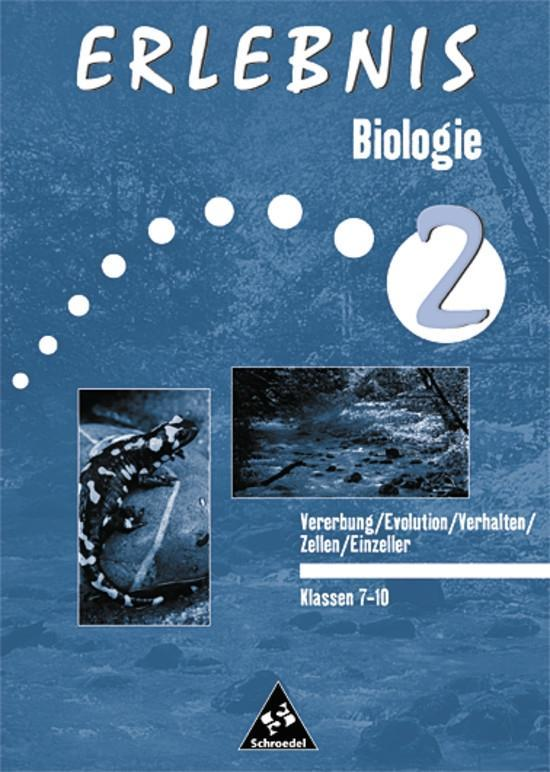 Erlebnis Biologie 2. Arbeitsheft. Einzeller als Buch