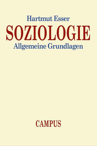 Soziologie als Buch