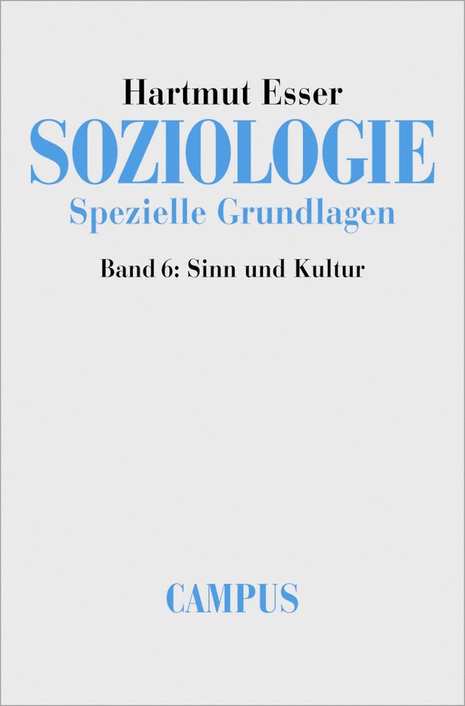 Soziologie. Spezielle Grundlagen 6 als Buch