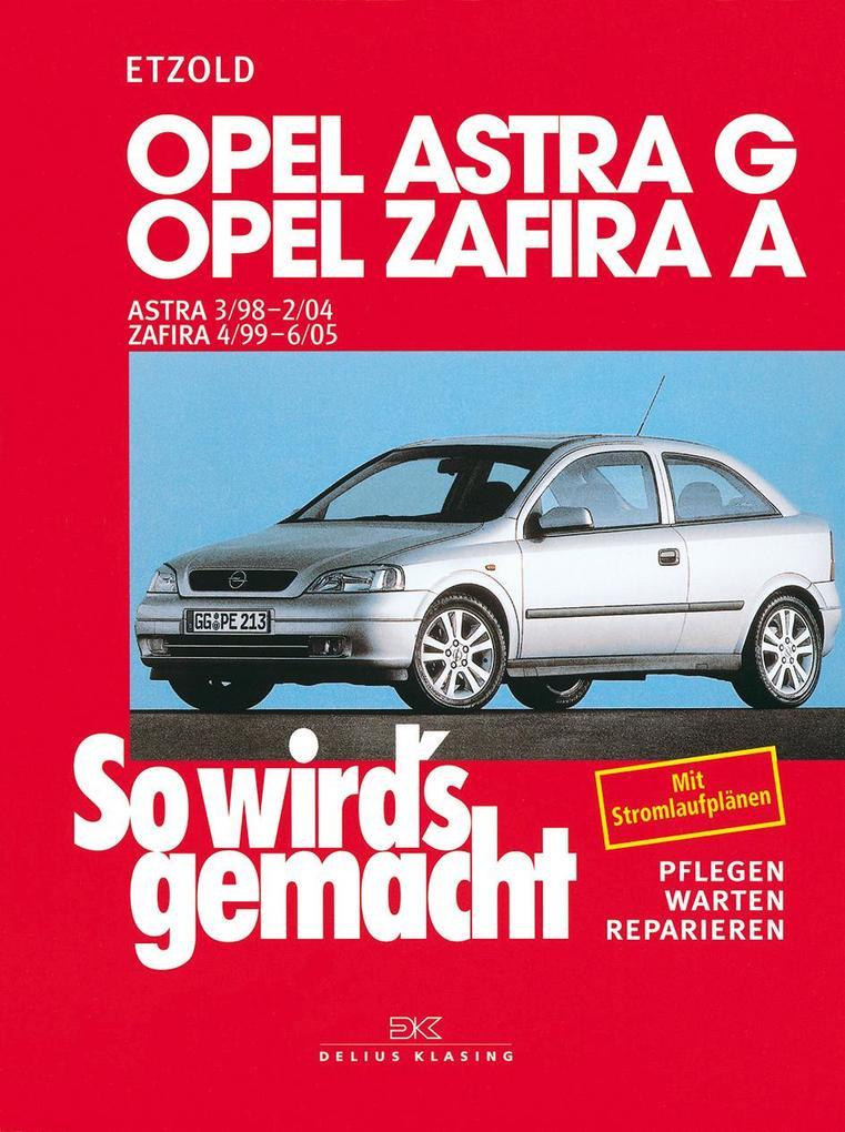 Opel Astra G 3/98 bis 2/04 als Buch