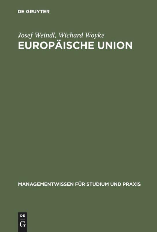 Europäische Union als Buch