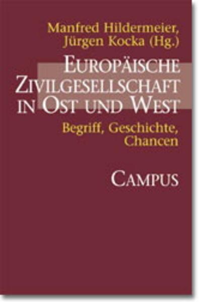 Europäische Zivilgesellschaft in Ost und West als Buch