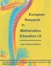 European Research in Mathematics Education I.II
