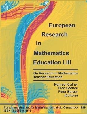 European Research in Mathematics Education I.III als Buch