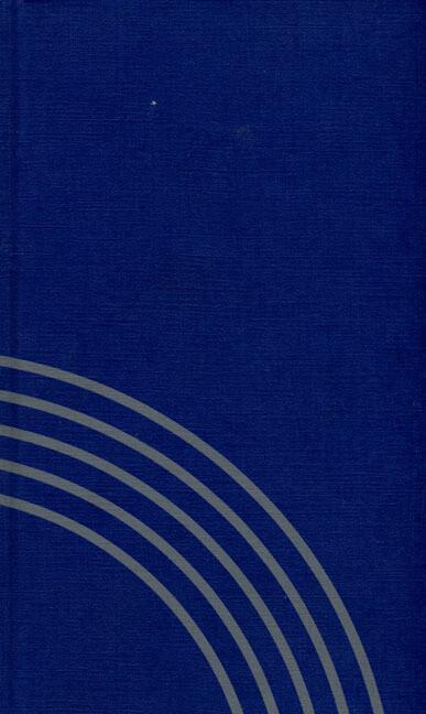 Evangelisches Gesangbuch (blau) als Buch