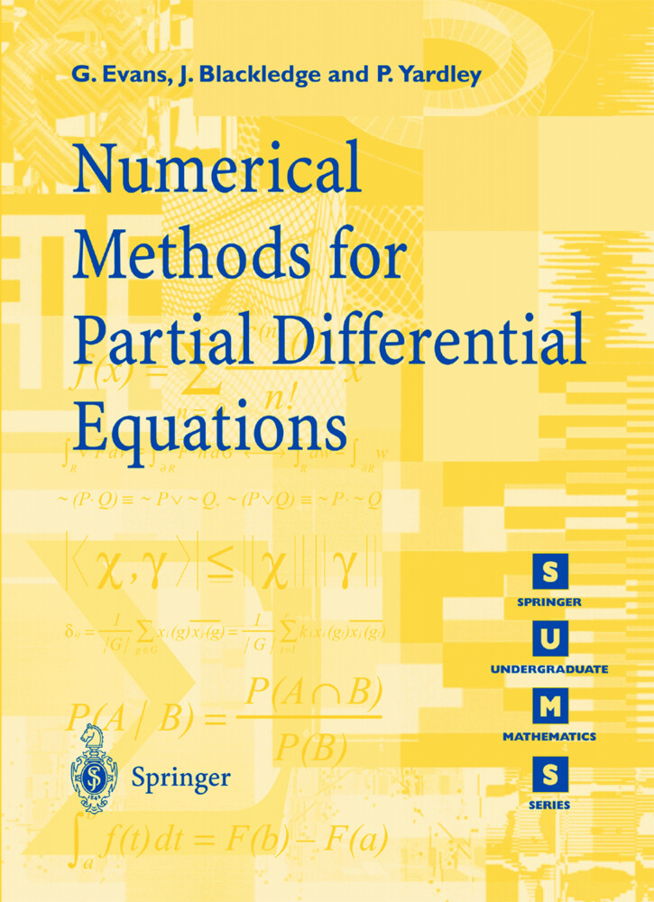 Numerical Methods for Partial Differential Equations als Buch