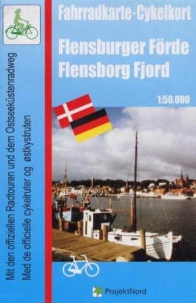 Fahrradkarte Flensburger Förde 1 : 50 000 als Buch