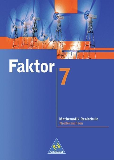Faktor 7. Schülerband. Niedersachsen. Euro-Ausgabe als Buch