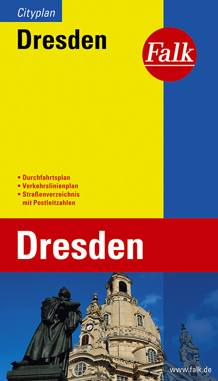 Falk Cityplan Dresden 1 : 20 000 als Buch