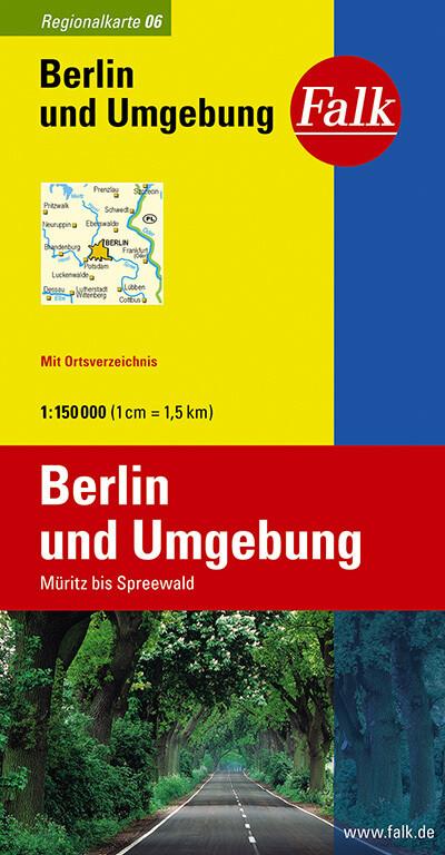 Falk Regionalkarte 06. Berlin und Umgebung. 1 : 150 000 als Buch