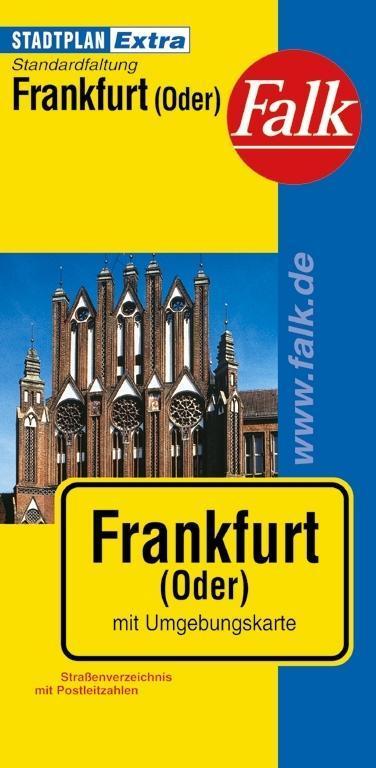 Falk Stadtplan Extra Standardfaltung Frankfurt/Oder als Buch