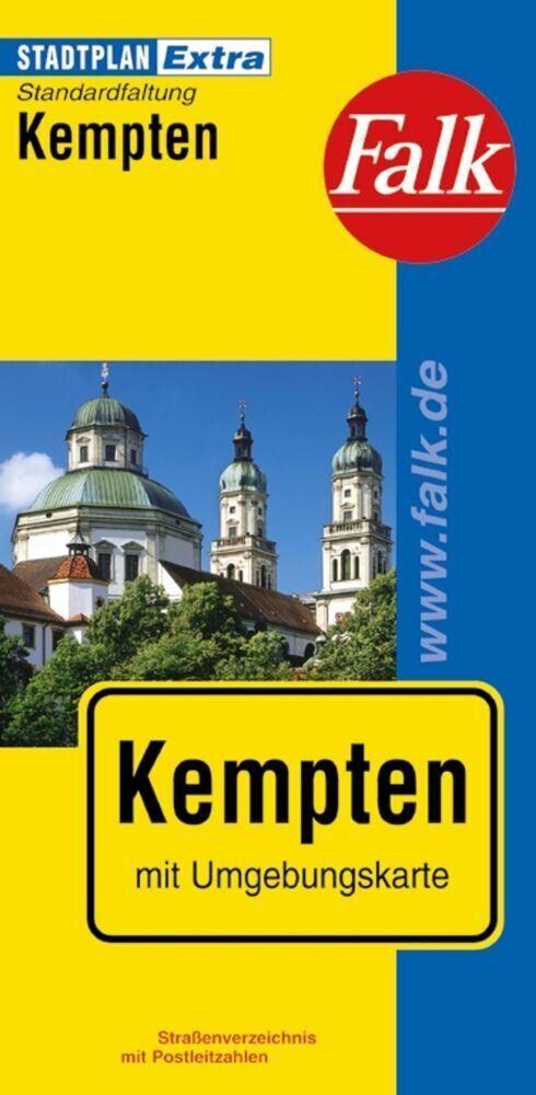 Falk Stadtplan Extra Standardfaltung Kempten 1:17 000 als Buch