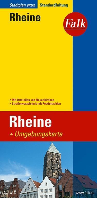 Falk Stadtplan Extra Standardfaltung Rheine als Buch