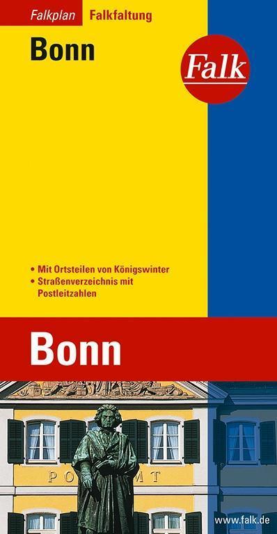 Falk Stadtplan Falkfaltung Bonn als Buch