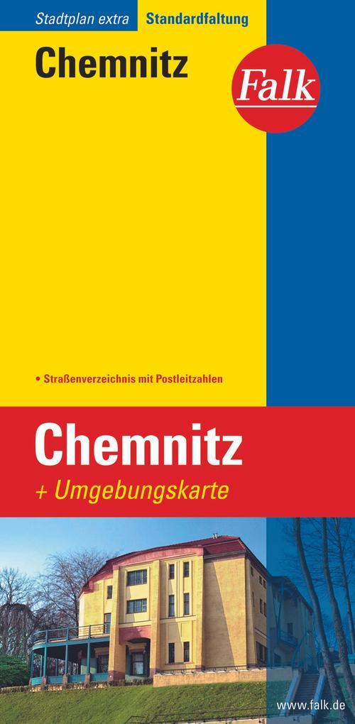 Falk Stadtplan Extra Standardfaltung Chemnitz als Buch