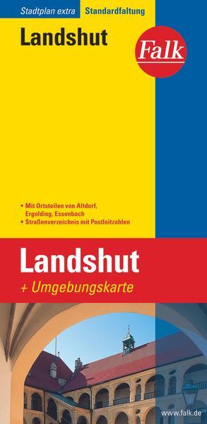 Falk Stadtplan Extra Standardfaltung Landshut 1 : 17 500 als Buch