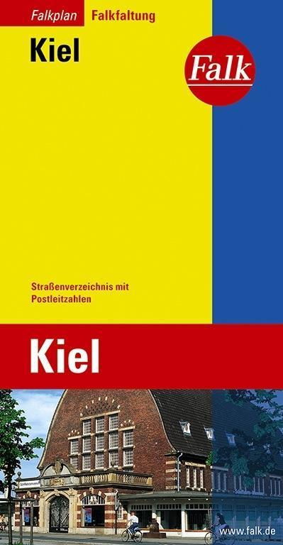 Falk Stadtplan Falkfaltung Kiel 1 : 20 000 als Buch
