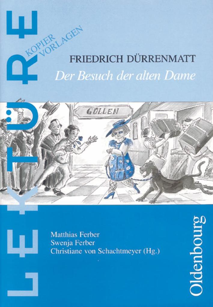 Friedrich Dürrenmatt: Der Besuch der alten Dame als Buch