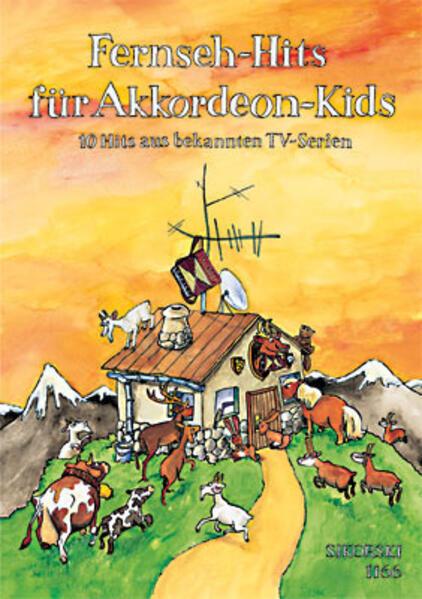 Fernseh-Hits für Akkordeon-Kids als Buch