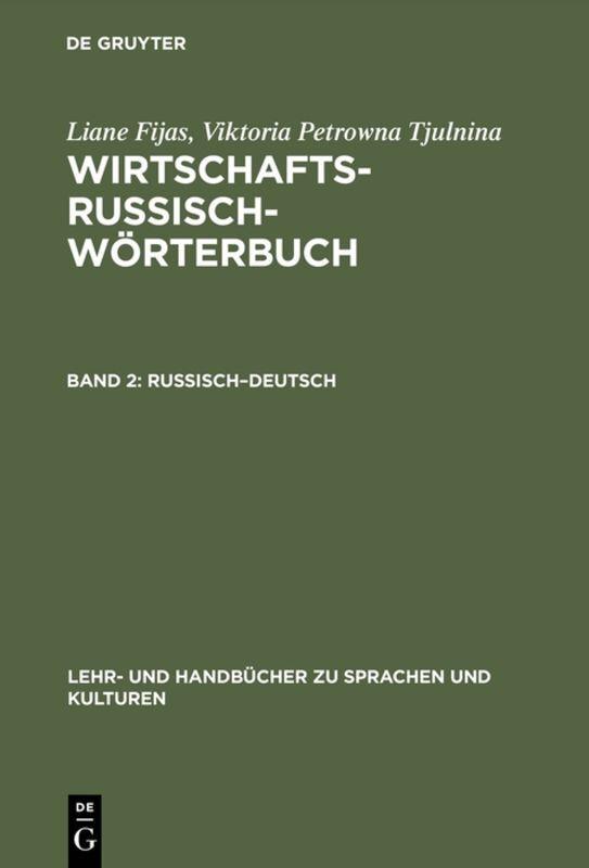 Russisch-Deutsch als Buch