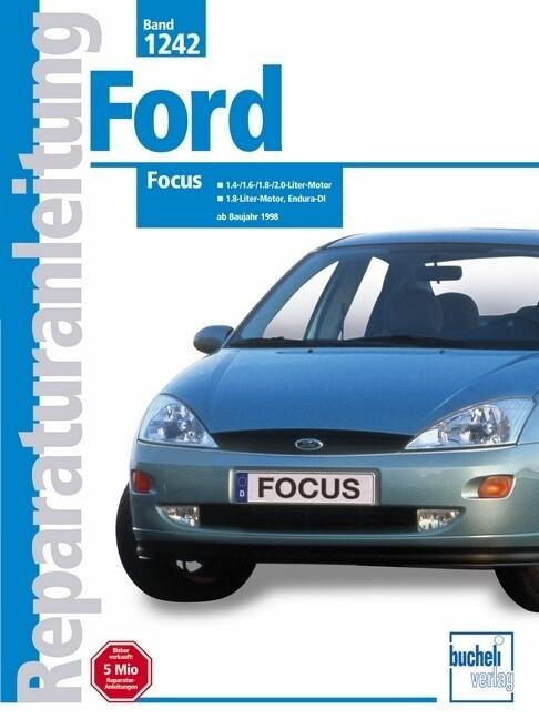 Ford Focus ab Baujahr 1998 als Buch (kartoniert)