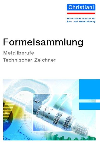 Formelsammlung Metallberufe, Technischer Zeichner als Buch