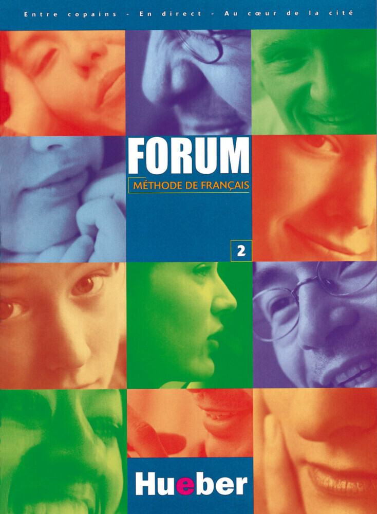 Forum 2. Methode de Francais als Buch