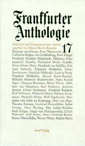 Frankfurter Anthologie 17 als Buch