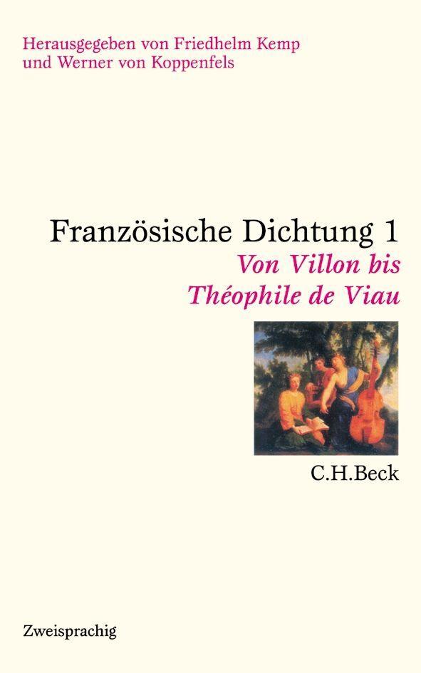 Französische Dichtung als Buch