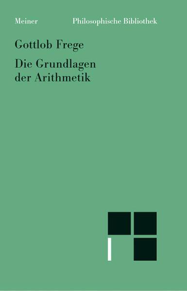 Grundlagen der Arithmetik als Buch